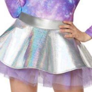 Skirts - Holographic light up alien skirt